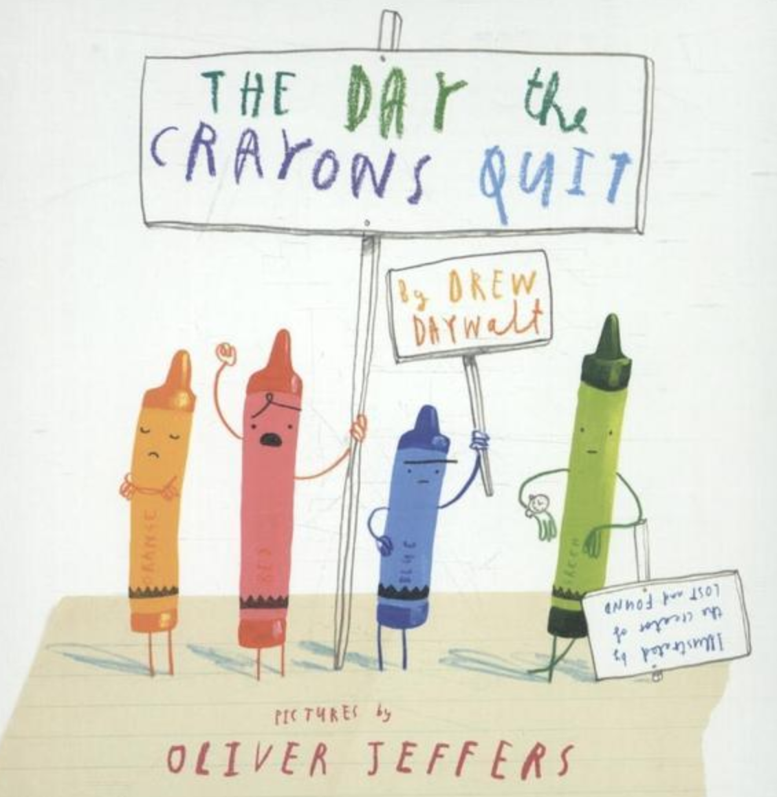 Preview image for LOM object Mini-Book zum Bilderbuch: The day the crayons quit