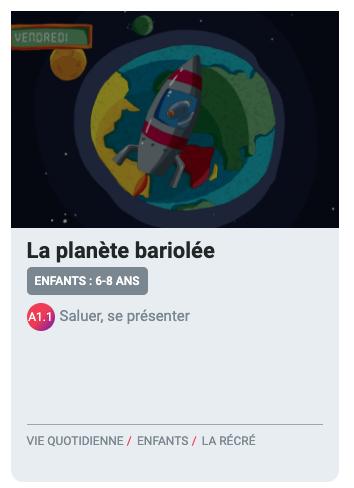 Preview image for LOM object TV5 Monde - Fiches pédagogiques