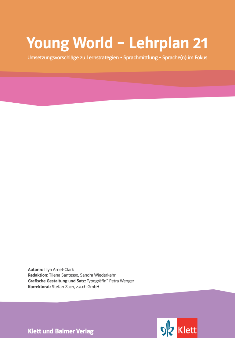 Preview image for LOM object Umsetzungsvorschläge zu «Young World 1-4» zu Strategien, Sprachmittlung, Sprachen im Fokus