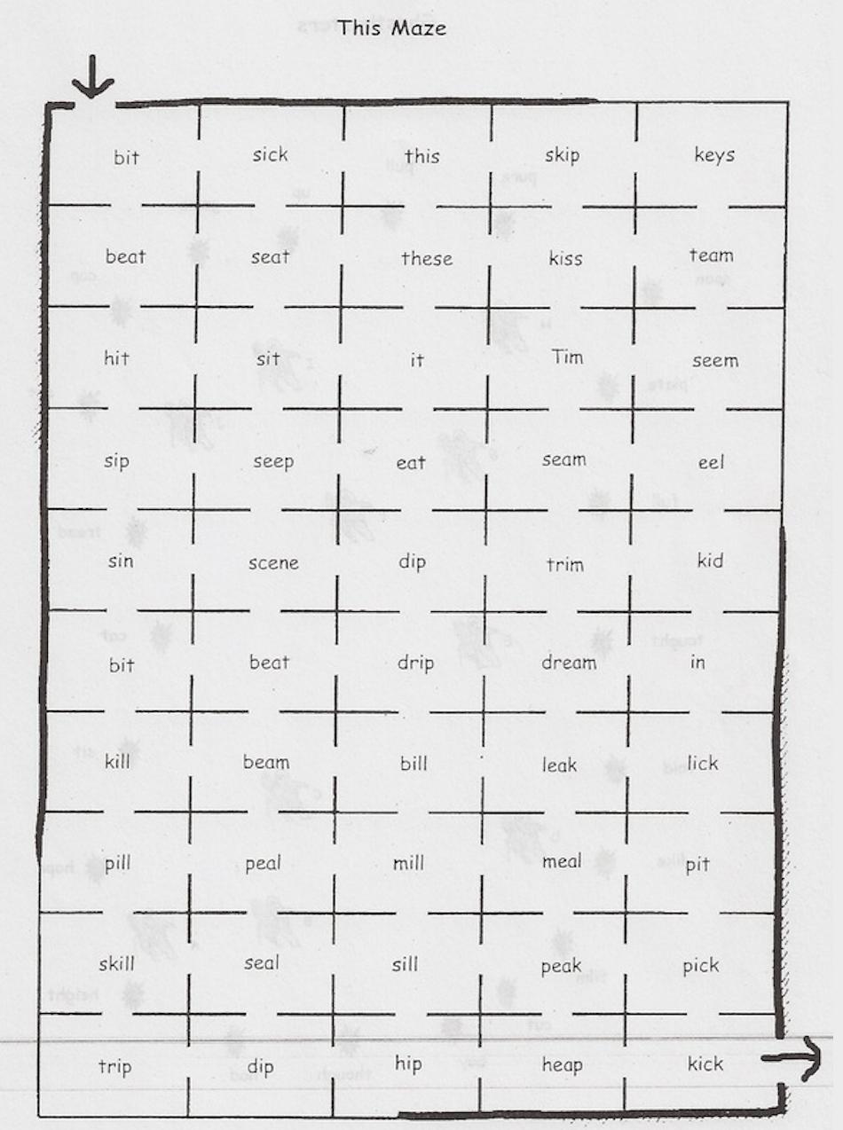 Preview image for LOM object Aussprachetraining: Sound maze