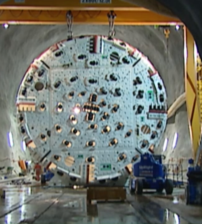 Preview image for LOM object Bauen im Berg: Bohren, sprengen und graben
