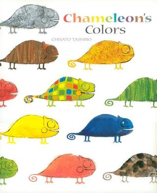 Preview image for LOM object Mini-Book zum Bilderbuch: Chameleon's Colors