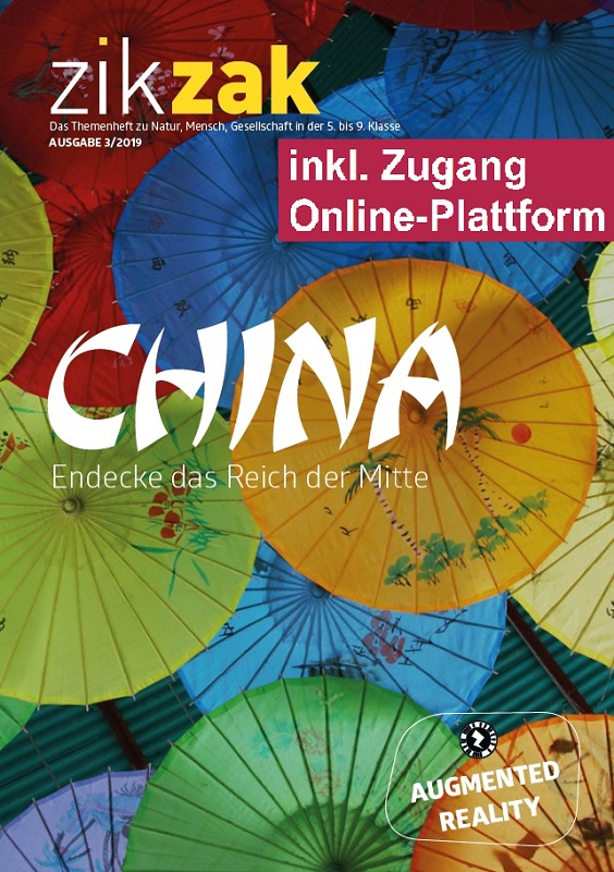 Preview image for LOM object Themenheft zikzak: China - Entdecke das Reich der Mitte
