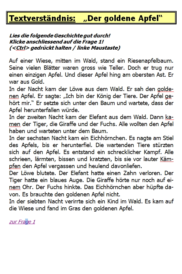 Preview image for LOM object Der goldene Apfel
