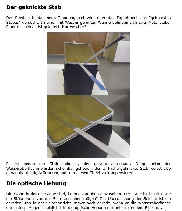 Preview image for LOM object Der geknickte Stab