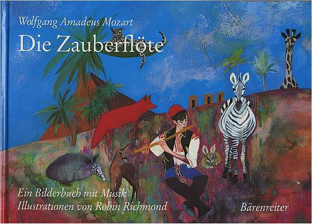 Preview image for LOM object Die Zauberflöte - Bilderbuch
