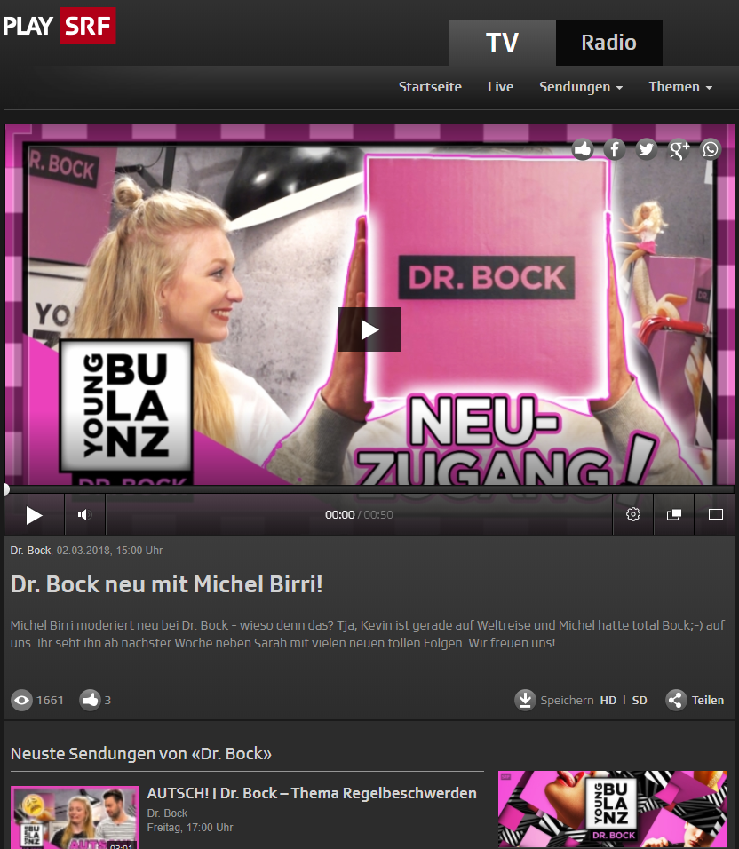 Preview image for LOM object Sendungen von Dr. Bock