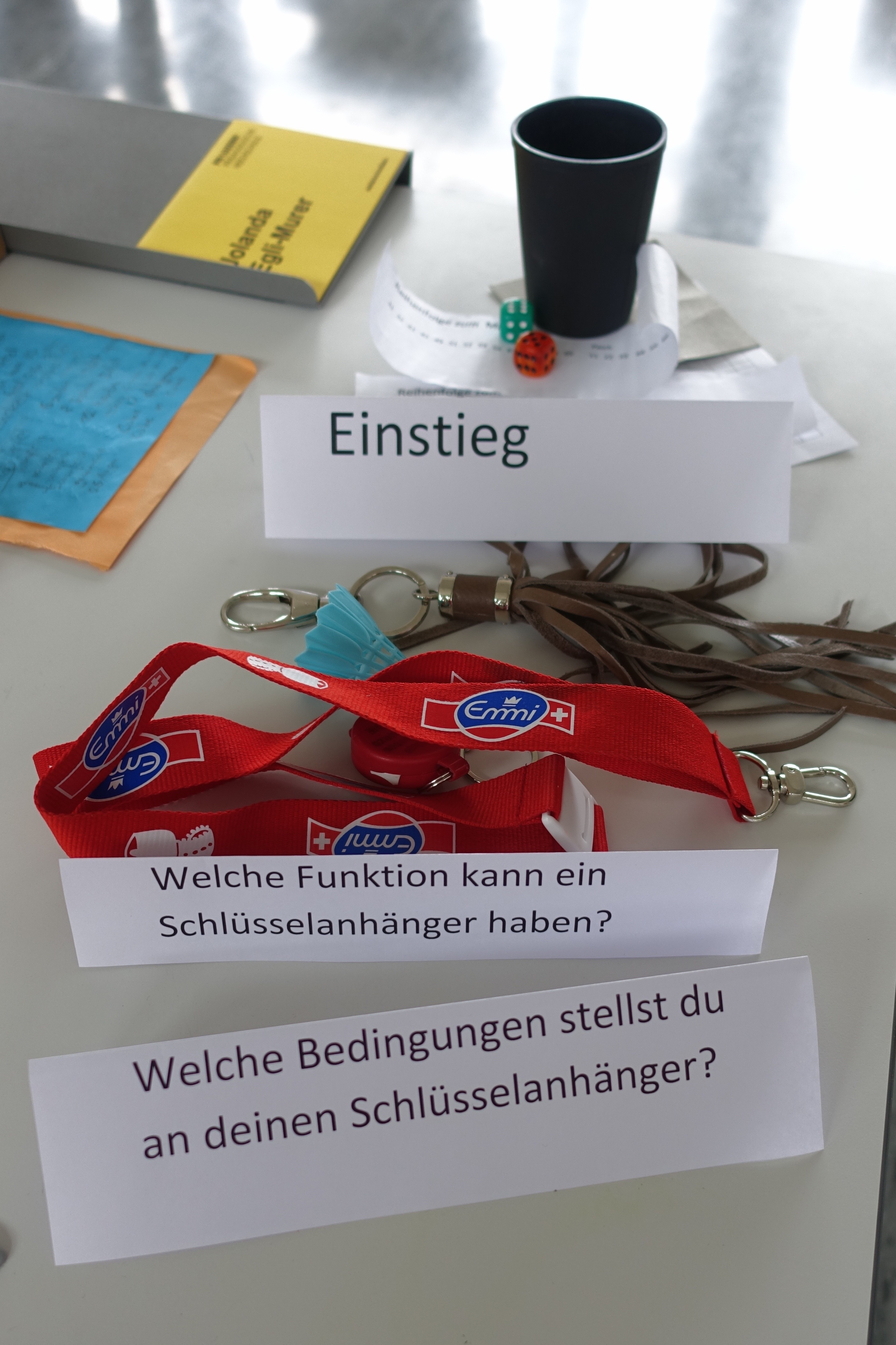 Preview image for LOM object Würfel - Schlüsselanhänger