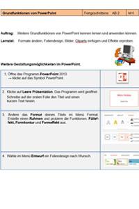 Preview image for LOM object Einführung ins Präsentieren mit PowerPoint