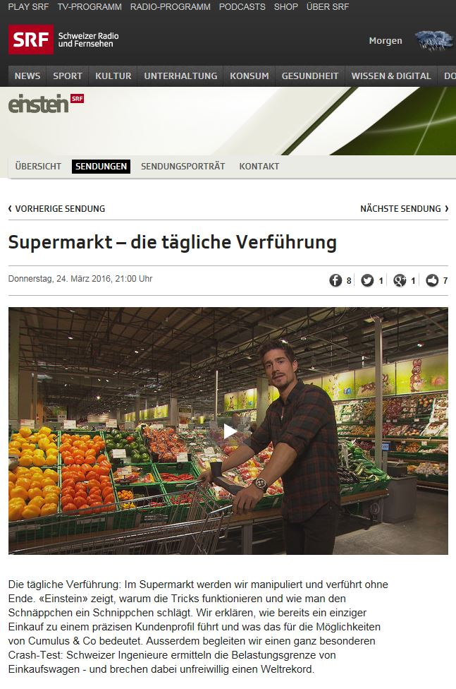 Preview image for LOM object Supermarkt - die tägliche Verführung