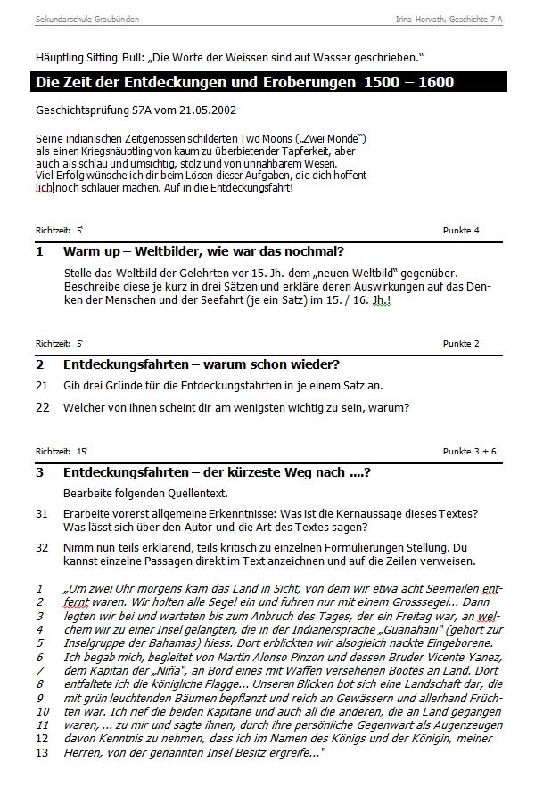 Preview image for LOM object Die Zeit der Entdeckungen und Eroberungen 1500 - 1600