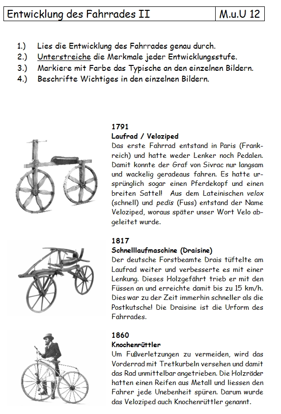 Preview image for LOM object Fahrrad