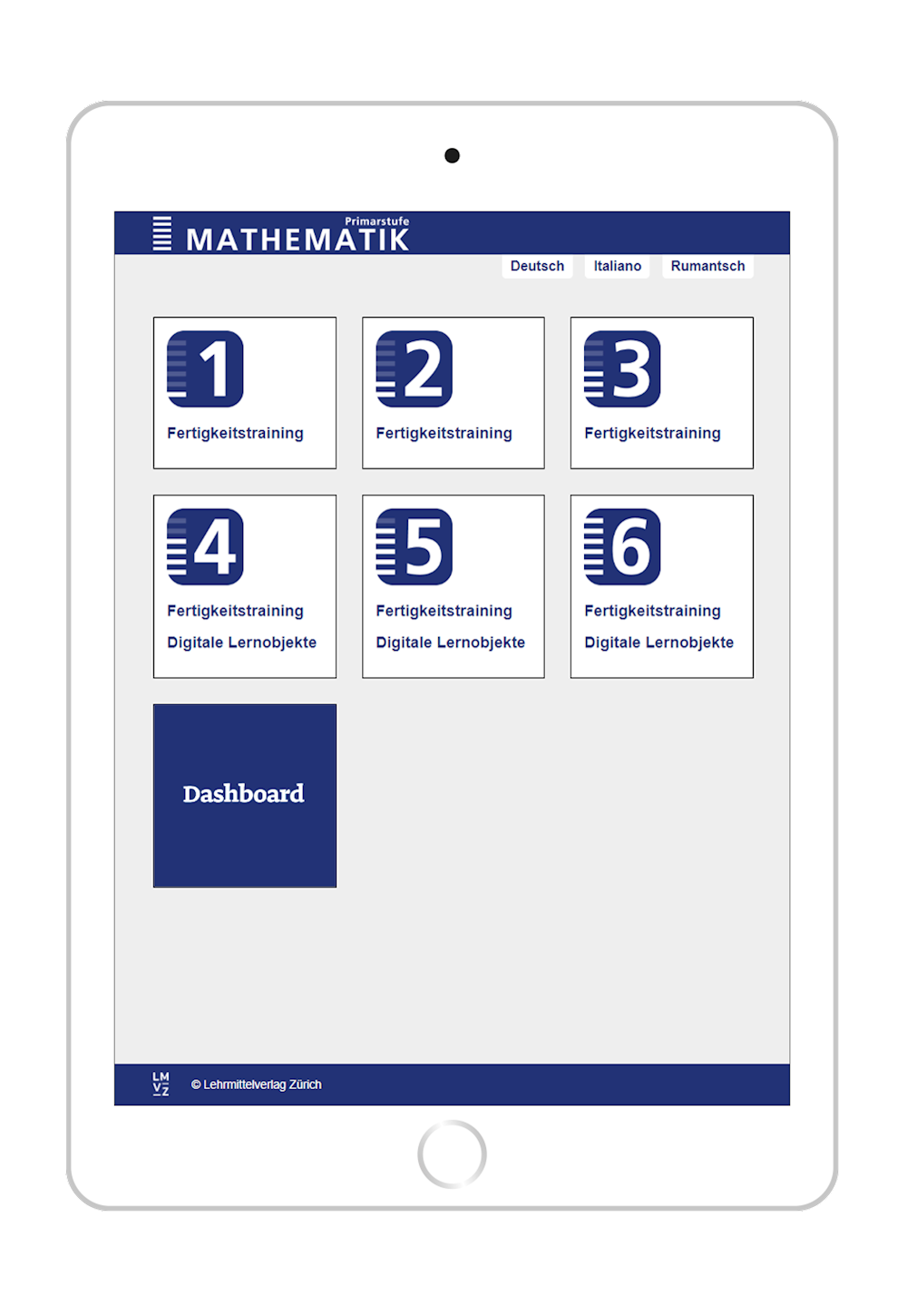 Preview image for LOM object Online-Übungen Mathematik 1-6