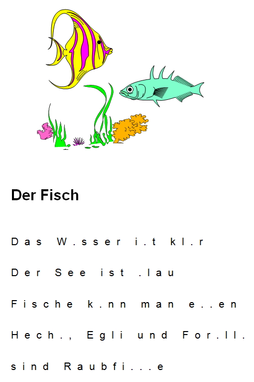 Preview image for LOM object Fische