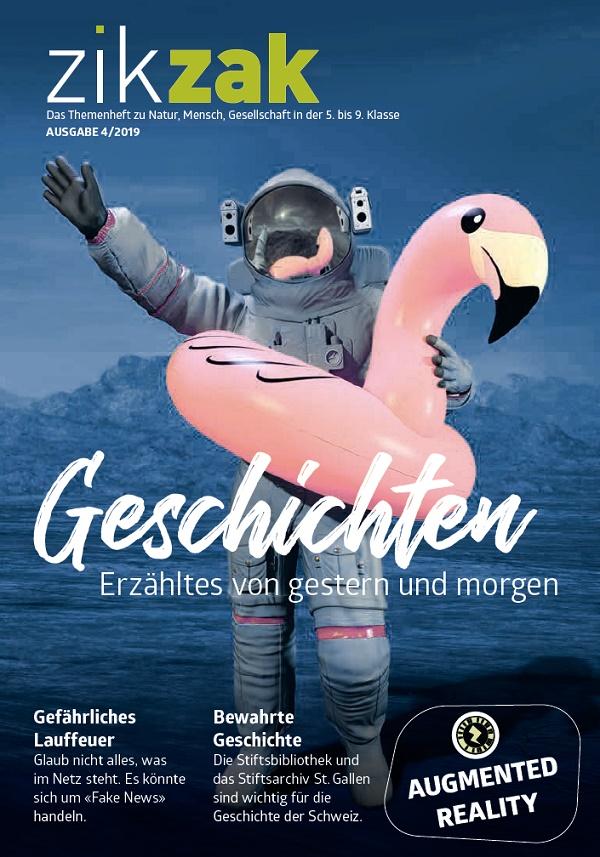 Preview image for LOM object Themenheft zikzak: Geschichten - Erzähltes von gestern und morgen