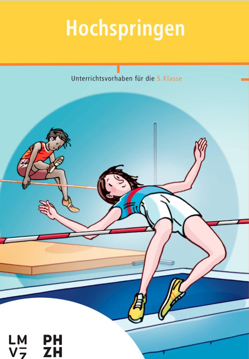 Preview image for LOM object Hochspringen - Sportbroschüre mit Unterrichtsvorhaben