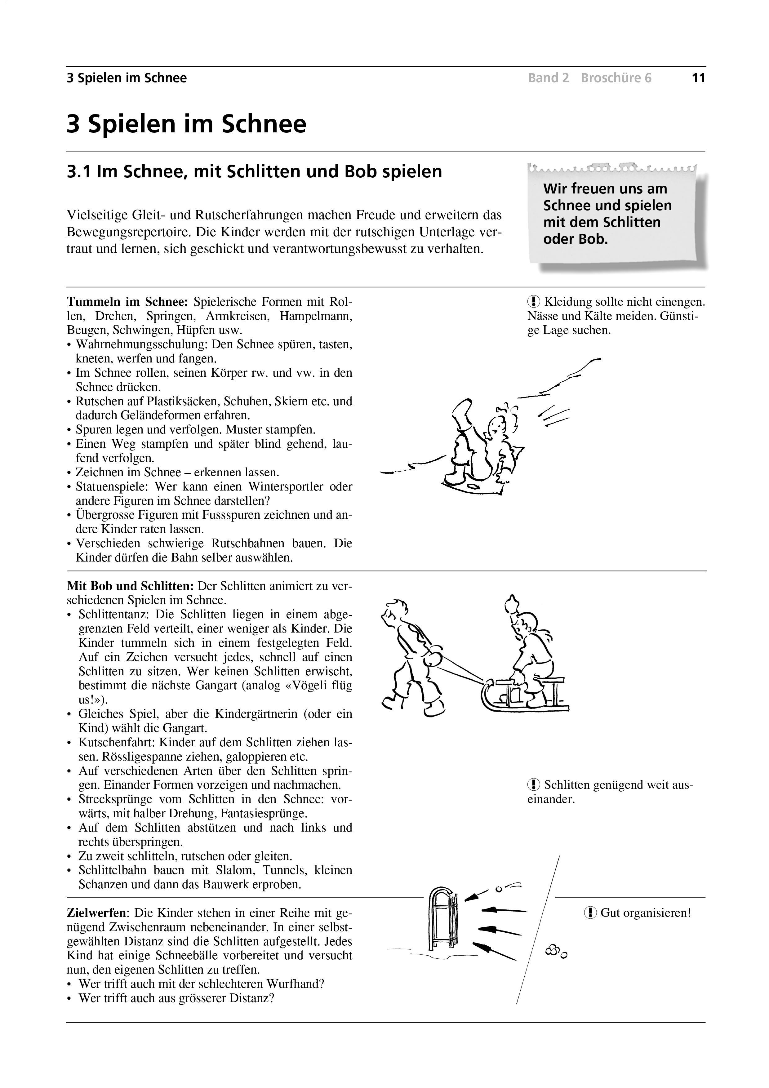 Preview image for LOM object Im Schnee, mit Schlitten und Bob spielen