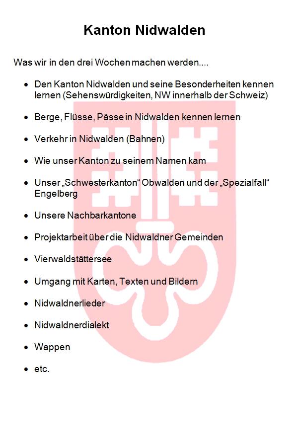 Preview image for LOM object Kanton Nidwalden