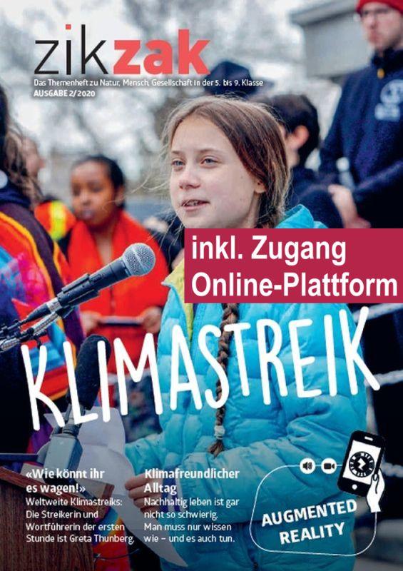 Preview image for LOM object Themenheft zikzak: Klimastreik