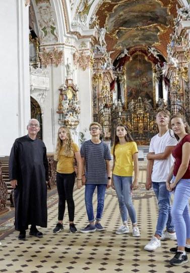 Preview image for LOM object Leben im Kloster – Führung durch das Kloster Einsiedeln