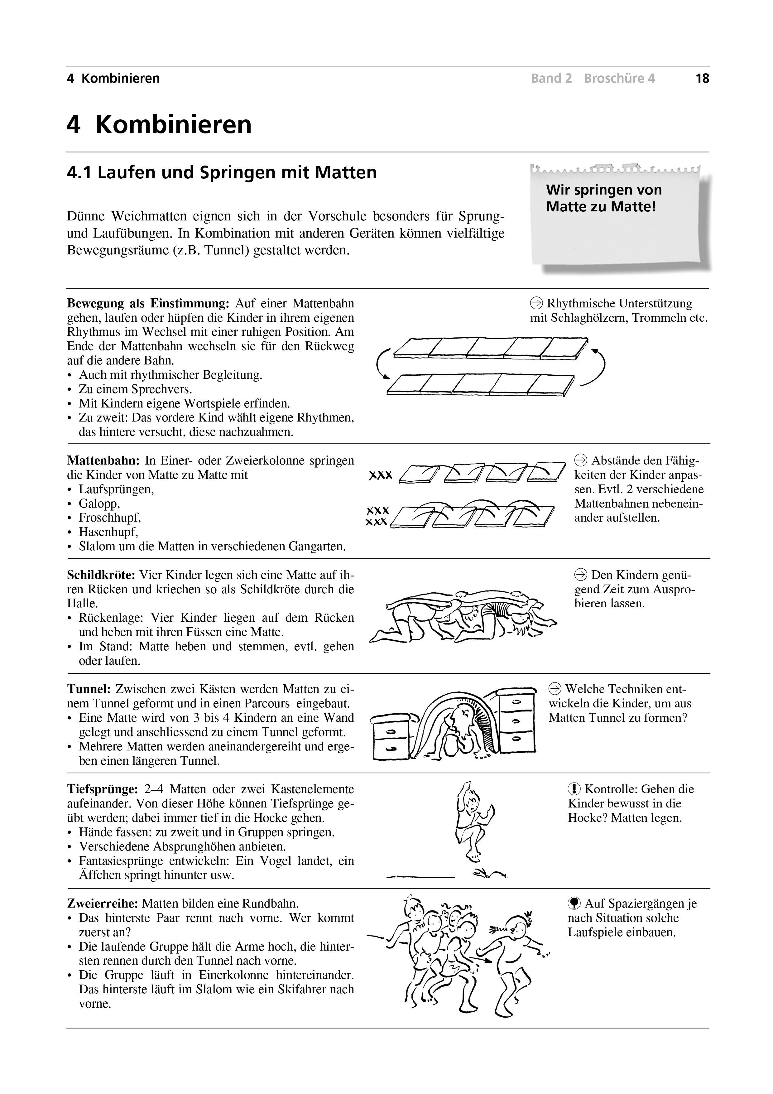 Preview image for LOM object Laufen und Springen mit Matten