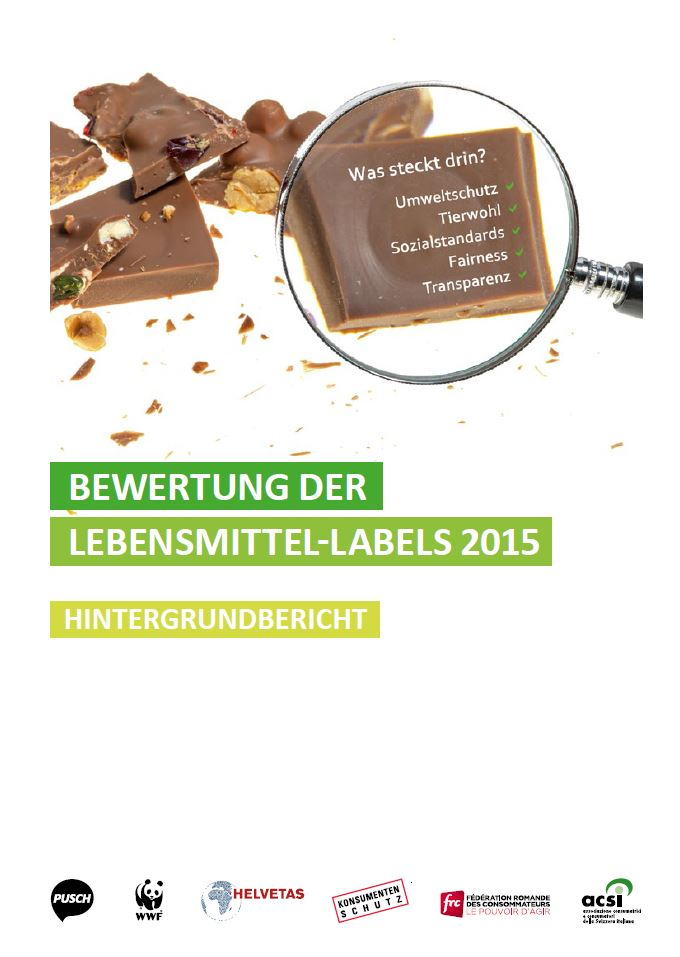 Preview image for LOM object Bewertung Lebensmittellabels 2015