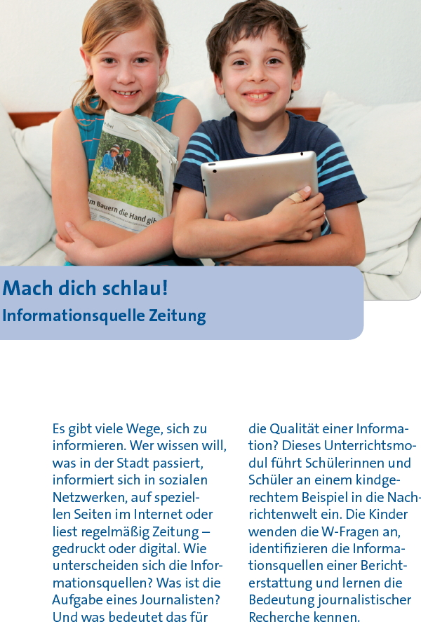 Preview image for LOM object Mach dich schlau! Informationsquelle Zeitung