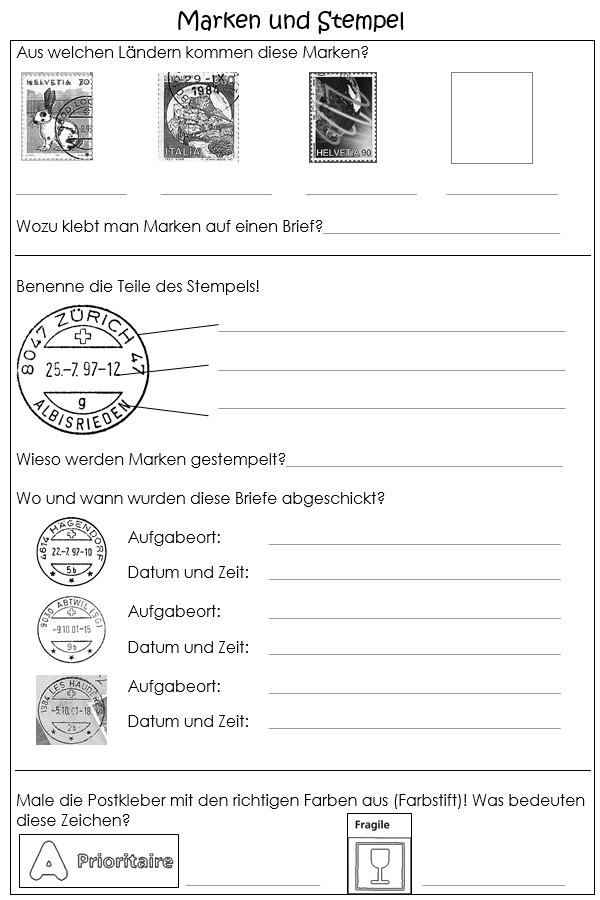 Preview image for LOM object Briefmarken, Stempel und Kleber