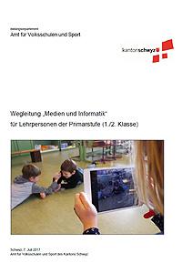 """Preview image for LOM object Wegleitungen zur Umsetzung des Lehrplans """"Medien und Informatik"""" 1./2. Klasse"""