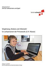"""Preview image for LOM object Wegleitungen zur Umsetzung des Lehrplans """"Medien und Informatik"""" 3./4. Klasse"""