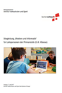 """Preview image for LOM object Wegleitungen zur Umsetzung des Lehrplans """"Medien und Informatik"""" 5./6. Klasse"""