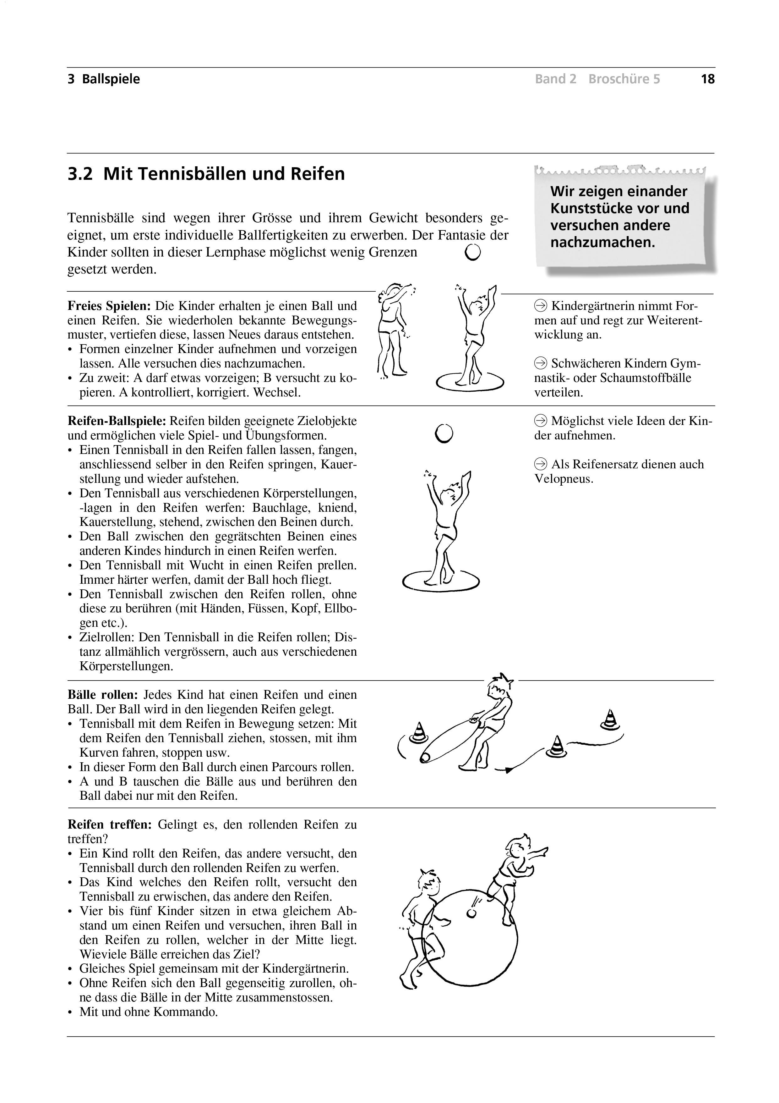 Preview image for LOM object Mit Tennisbällen und Reifen