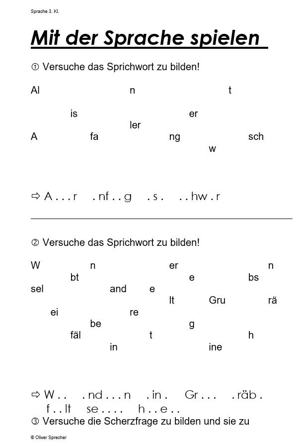 Preview image for LOM object Mit der Sprache spielen