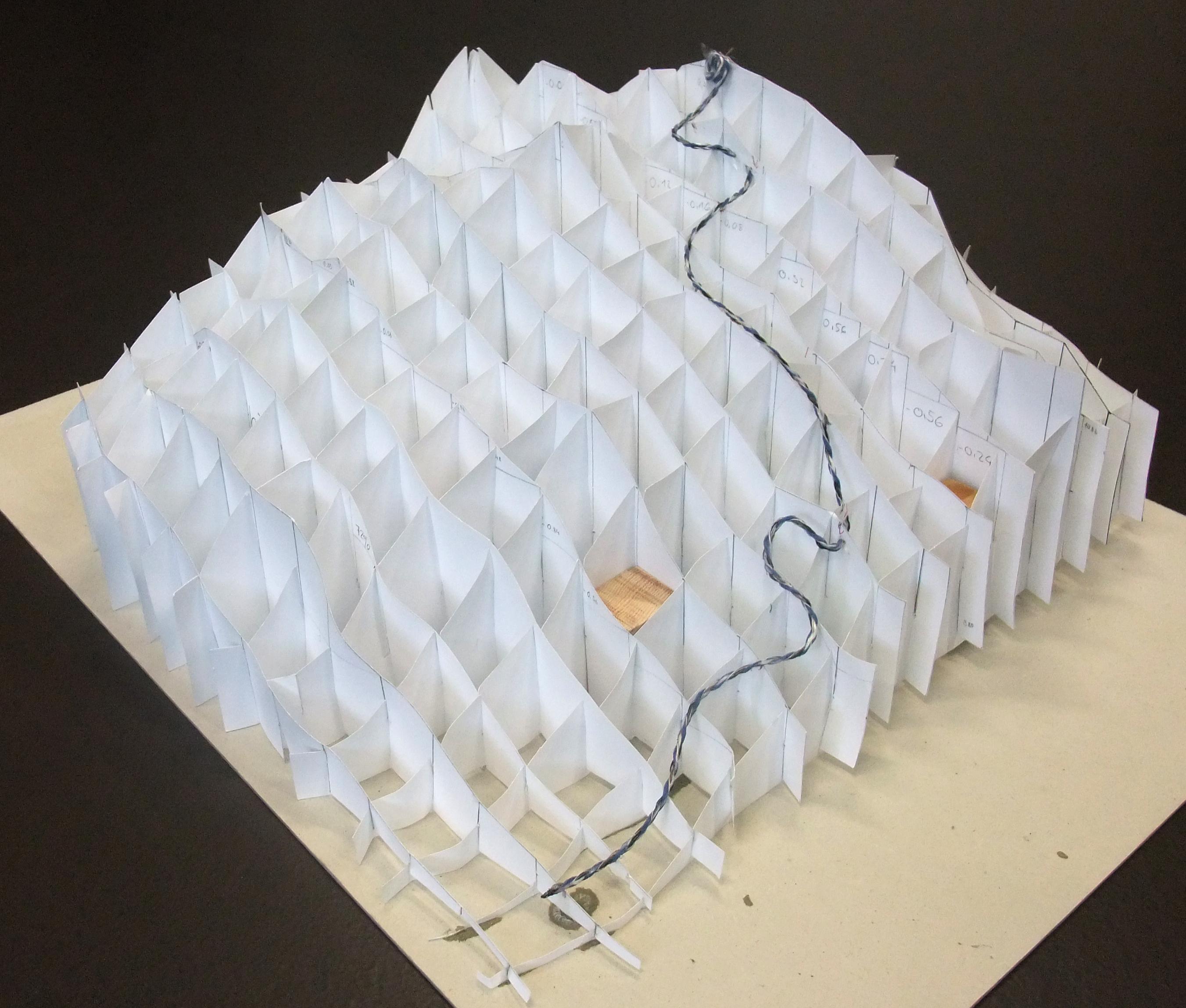 Vignette pour un objet LOM Klassenprojekt 3D-Profil Pilatus Südseite