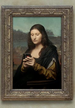 Preview image for LOM object Bilder allein zuhaus: Mona Lisa
