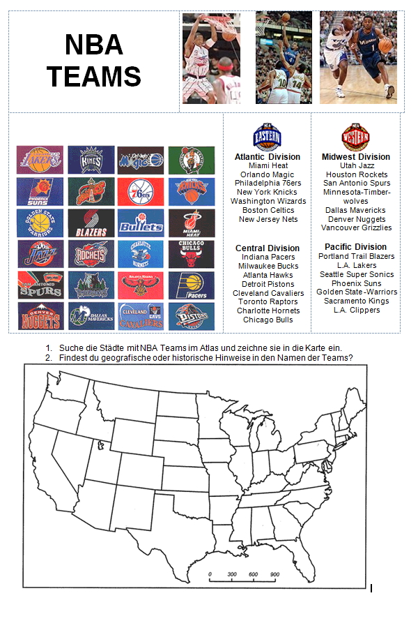 Preview image for LOM object USA - Städte mit NBA-Teams
