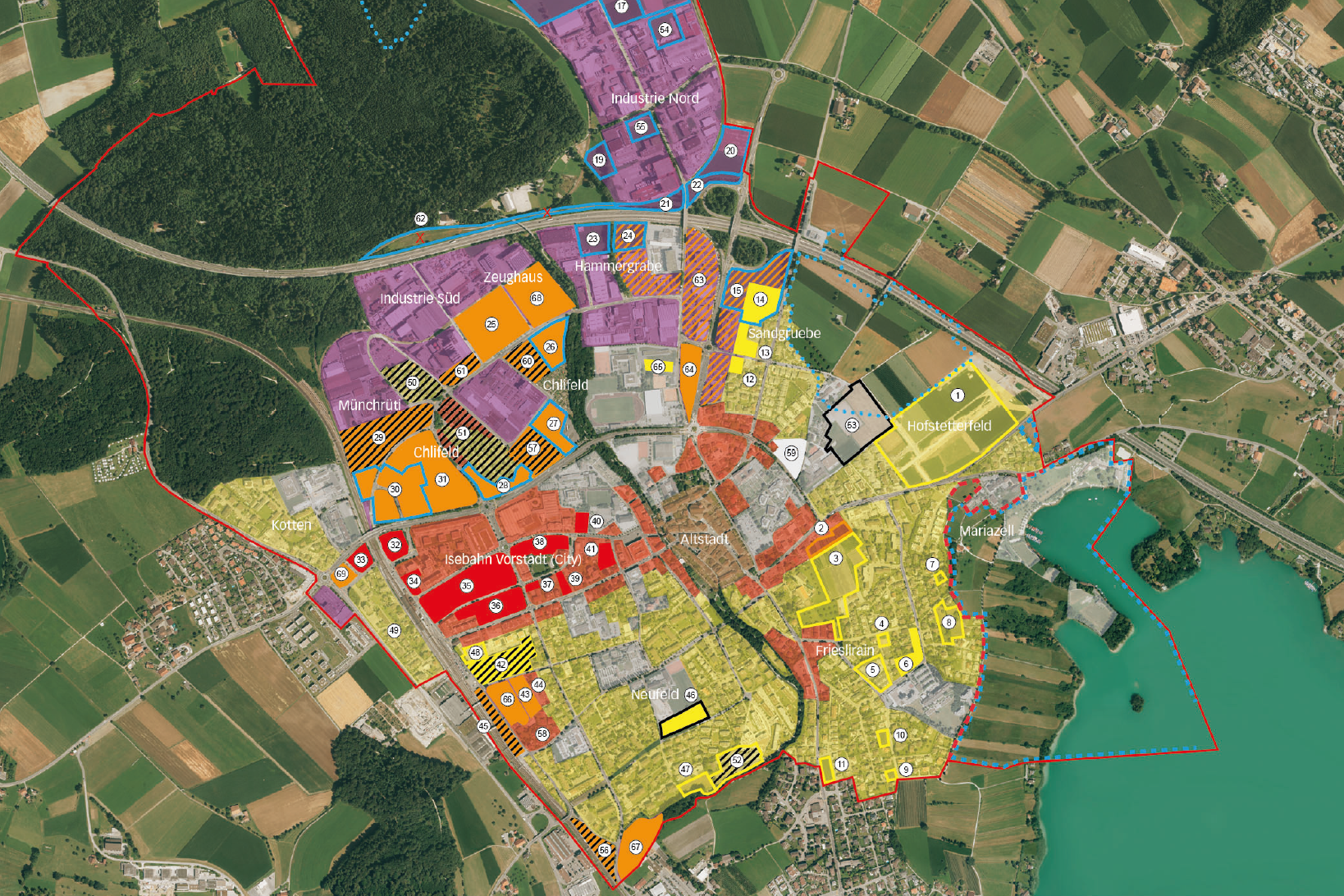 Preview image for LOM object Actionbound Sursee Raumplanung Nutzungen - Ausserschulisches Lernen
