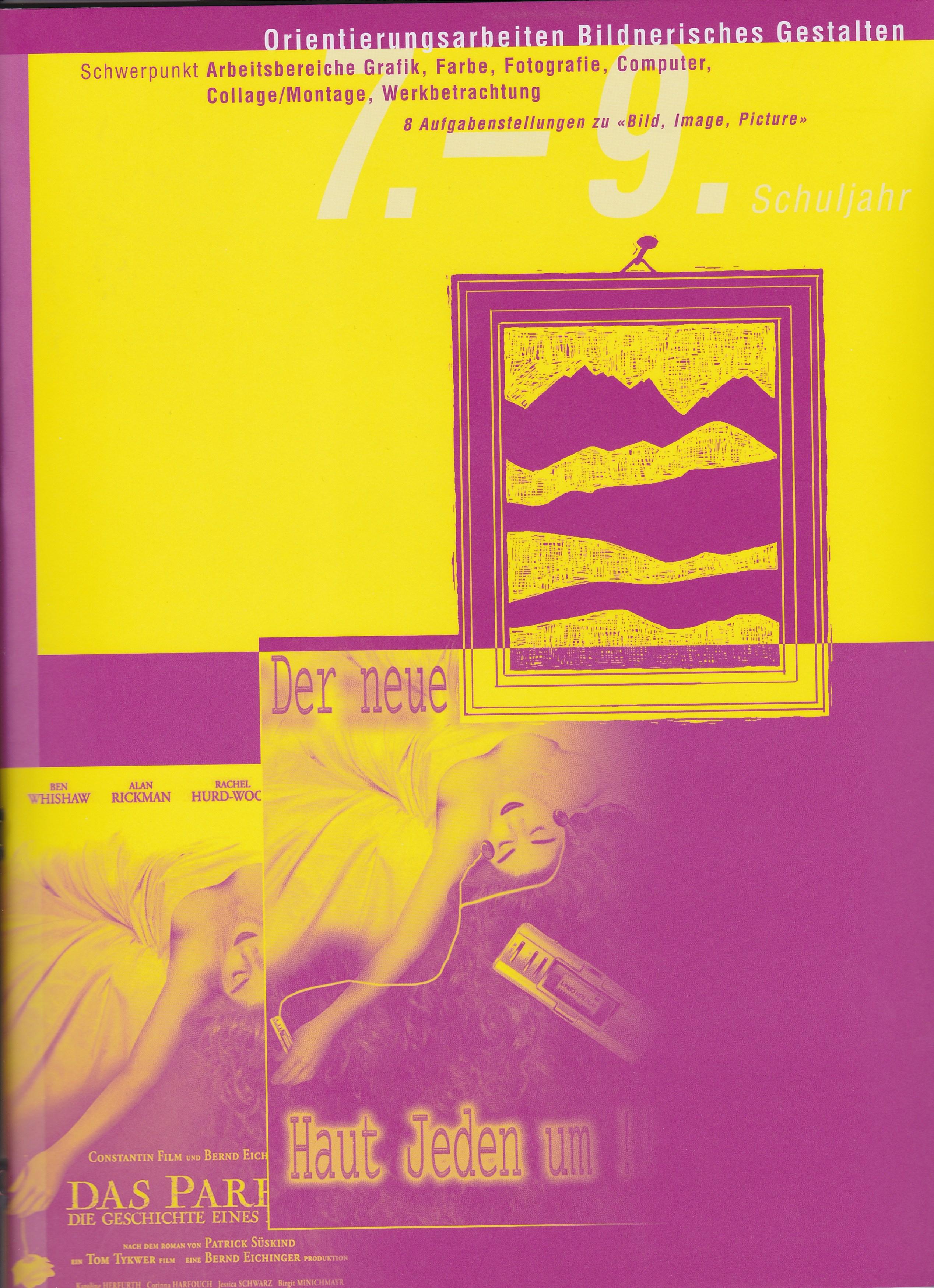 Preview image for LOM object Orientierungsarbeit Bildnerisches Gestalten 7-9: Bild, Image, Picture