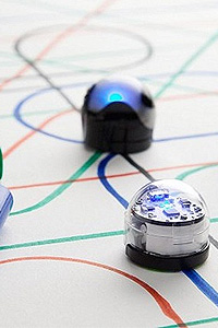 Preview image for LOM object Ozobot Roboter programmieren mit Filzstiften