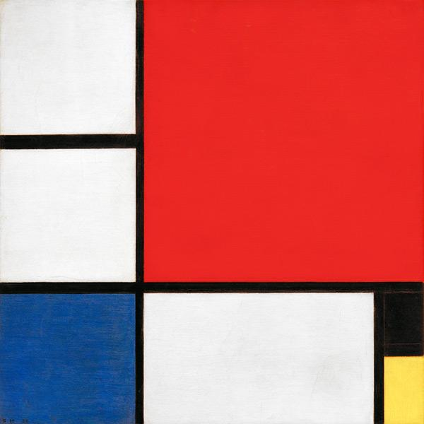 Preview image for LOM object Piet Mondrian