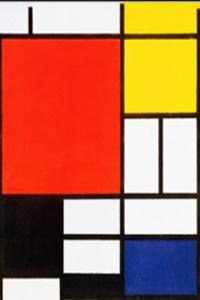 Preview image for LOM object Auf den Spuren von Piet Mondrian - Gestalten mit Tabellen in Word