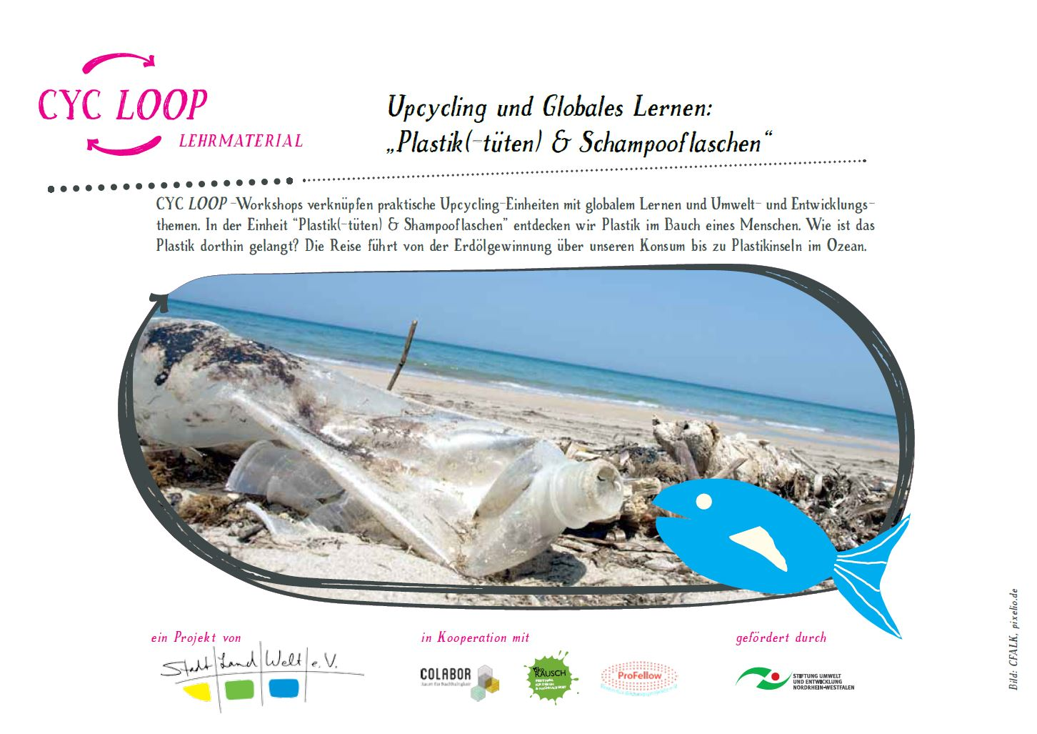 Preview image for LOM object   Plastik(-tüten) & Shampooflaschen: Upcycling und Globales Lernen