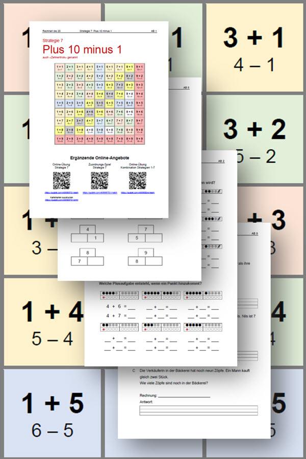 Preview image for LOM object Plus- und Minusaufgaben im Zahlenraum bis 20 mit Rechenstrategien lösen