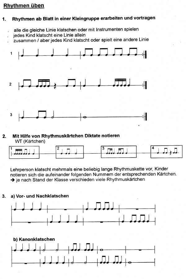 Preview image for LOM object Rhythmen üben
