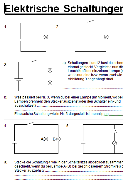 Preview image for LOM object  Elektrische Schaltungen