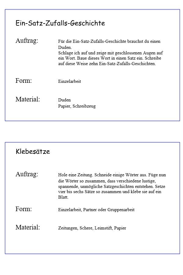 Preview image for LOM object Schreibwerkstatt