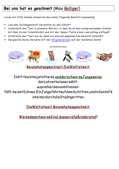 Preview image for LOM object Gedicht lernen
