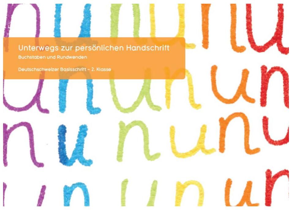 """Preview image for LOM object Arbeitsheft """"Buchstaben und Rundwenden"""" für die 2. Klasse"""