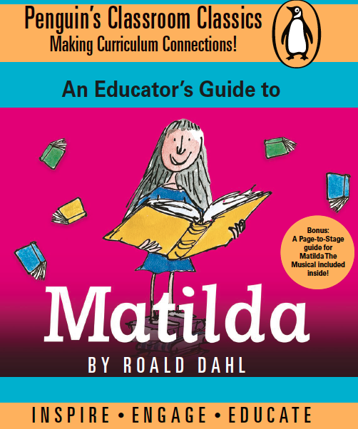 Preview image for LOM object Unterrichtsideen: Matilda by Roald Dahl