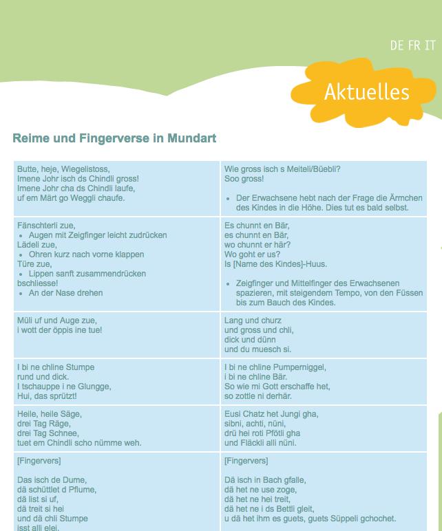 Preview image for LOM object Reime und Verse in Mundart sowie in anderen Sprachen